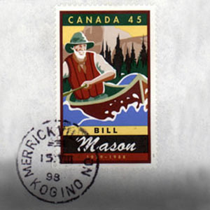 Bill Mason Canada Post Stamp
