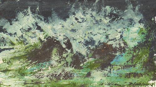 0194 Untitled Crashing Surf I - signed