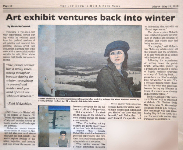 low down to Hull News coverage of art show