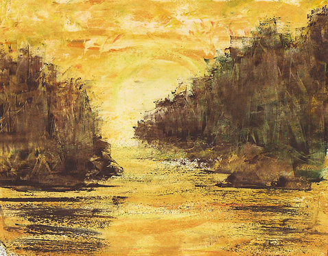 0087 Untitled Sunrise II - unsigned