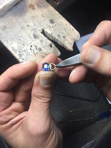 Travail à la cheville : fabrication d'une bague