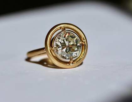 Rebirth,« un gros diamant rond de plus de 3,5 ct… »