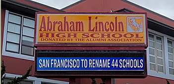 San Fransico to rename 44 schools