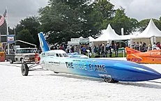 Last rocket car land speed record for US