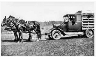 A Bennett buggy was a term used in Canada during the Great Depression to describe a car which had its engine, windows and sometimes frame work taken out and was pulled by a horse. In the United States, such vehicles were known as Hoover carts or Hoover wagons, named after then-President Herbert Hoover.