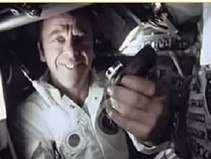 Alan Shepard first American astronaut in space 1961