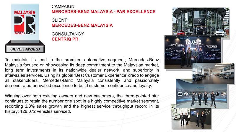 Mercedes-Benz Malaysia - Par Excellence