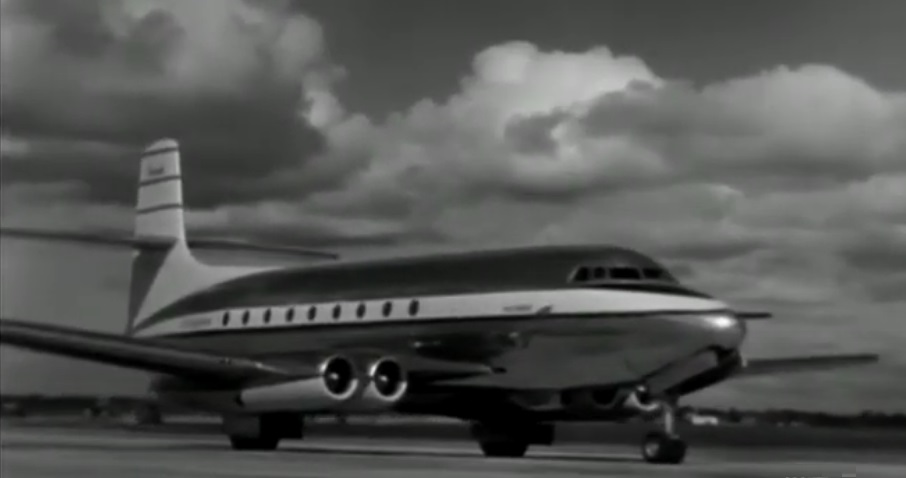 North America's first passenger jet line
