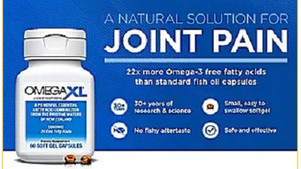 Omega-3 XL Natural Joint Pain Relief & Inflammation Supplement