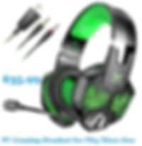 PC Gaming Headset for PS4 Xbox One PC,.j