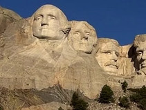 "Mount Rushmore National Memorial, ""shrine of Democracy"""