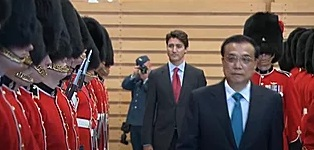 Trudeau's warfare training with china