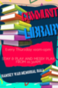 Community Library March 19 - Made with P
