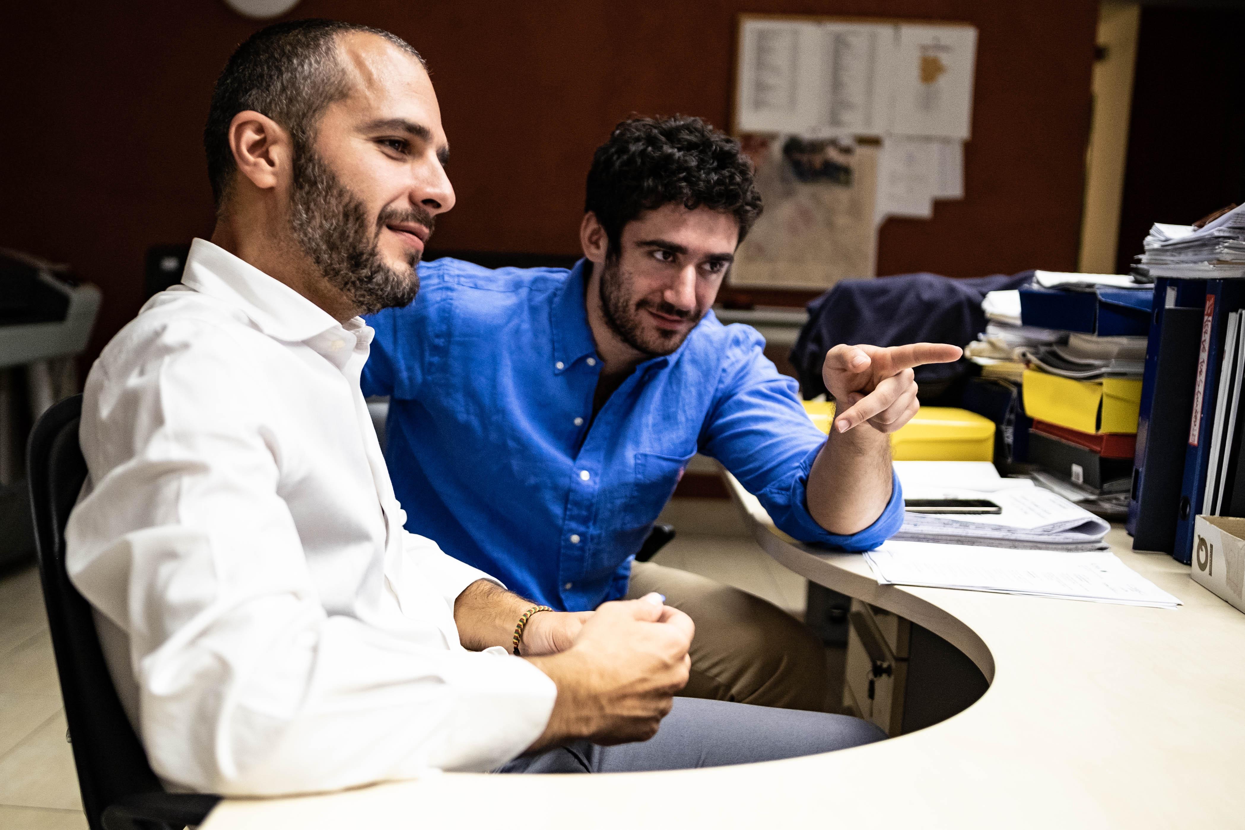 Arch. Marinelli e Dott. Giulio Cinti
