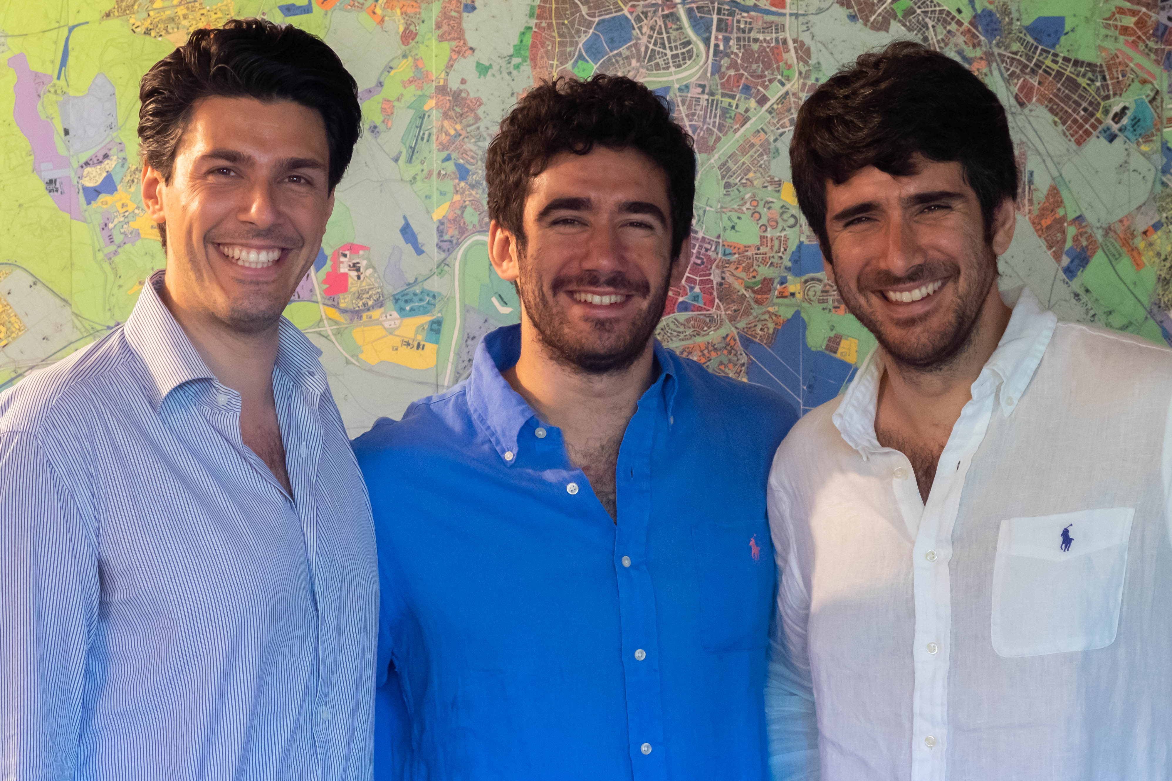 Arch. Paolo Cinti, Dott. Giulio Cinti ed Arch. Dario Cinti