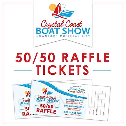 50/50 Raffle Tickets