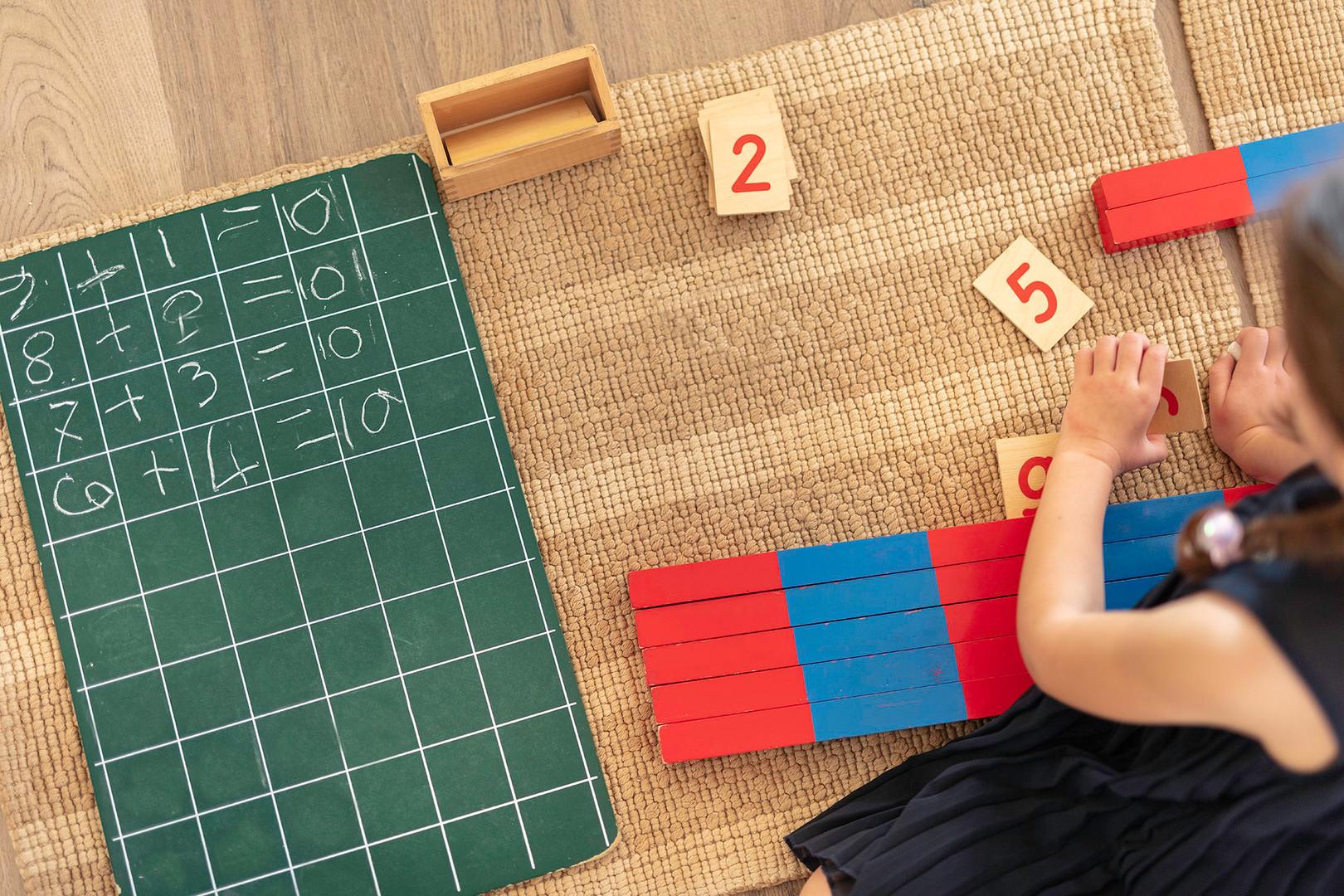 La maison des enfants Math 06