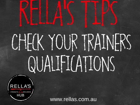 Is your trainer qualified?