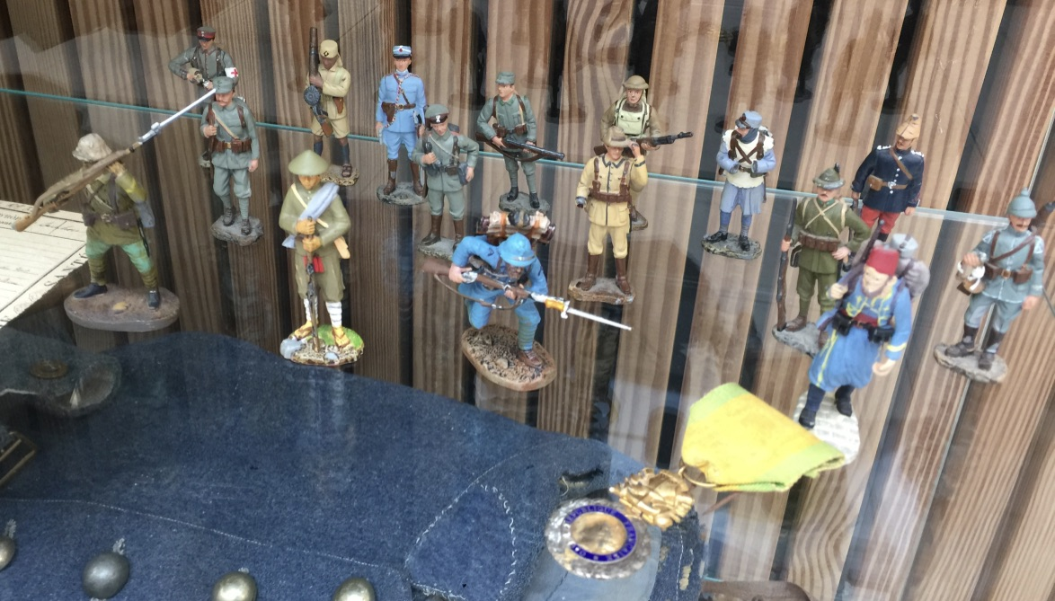 Les différents soldats