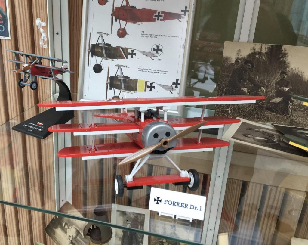 Le Fokker du Baron Rouge