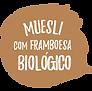 muesli com framboesa biológico granola bio