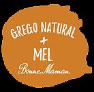 iogurte grego natural mel bonne maman everywhere individual com colher saqueta