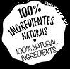 100 ingredientes naturais 100 natural ingredients