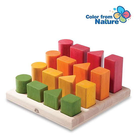 Natural Shape Sequence Toy