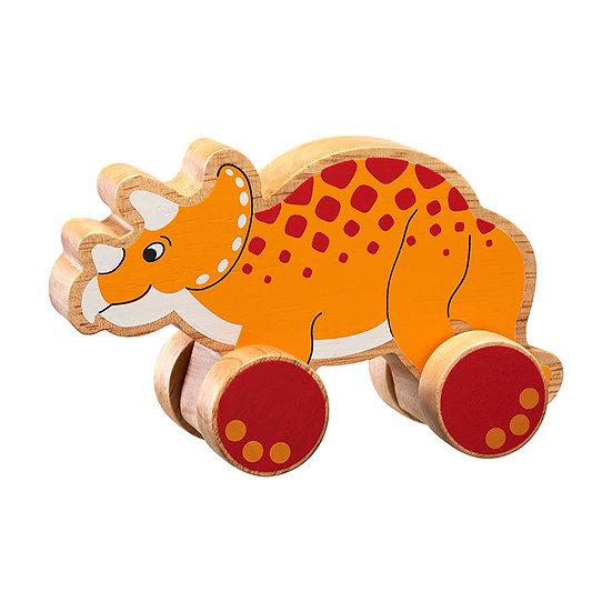 Triceratops Push Along