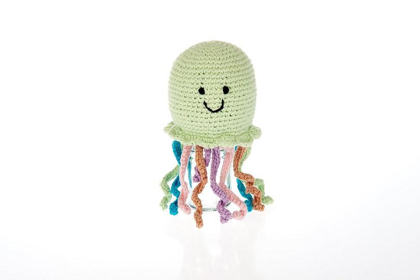 Fair Trade Jellyfish Rattle