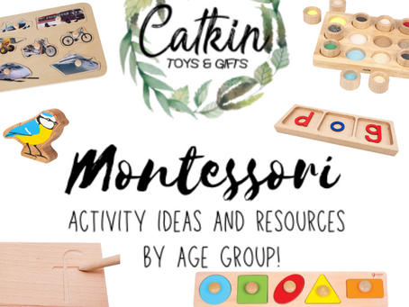 Montessori Toys & Activities By Age