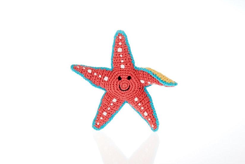 Fair Trade Starfish Rattle