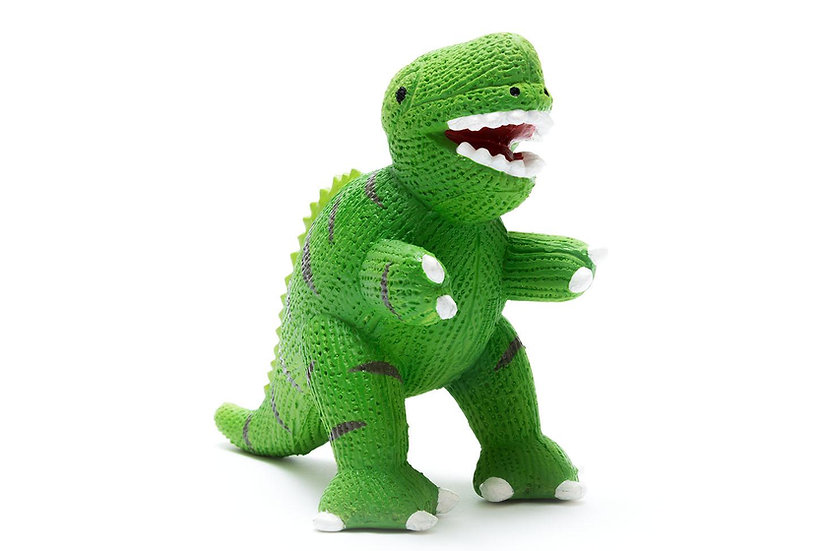 T-Rex Dinosaur 3 in 1 Teether, Toy & Bath Toy