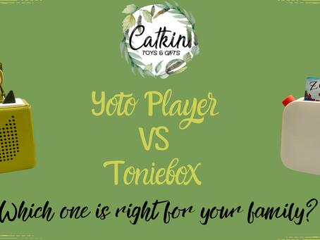 Yoto Player VS TonieBox