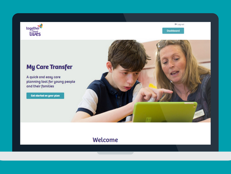 Together for short lives launches new digital platform for care documents.