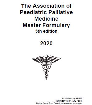 2020 APPM master formulary