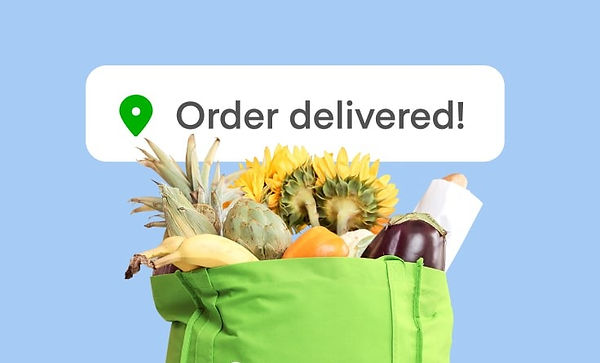 Grocery delivery food delivery