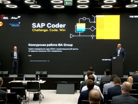 קבוצת IBA מגיעה לגמר של SAP Coder