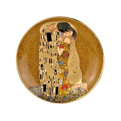GUSTAV KLIMT THE KISS 20CM PLATE BY GOEBEL