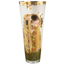 The Kiss – Vase glass round 30 cm Artis Orbis Gustav Klimt