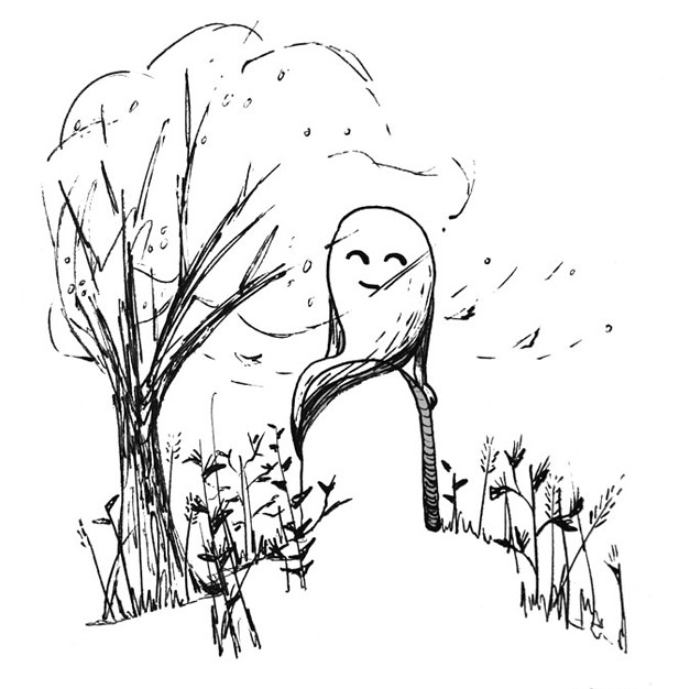 Ghost on a Windy Day