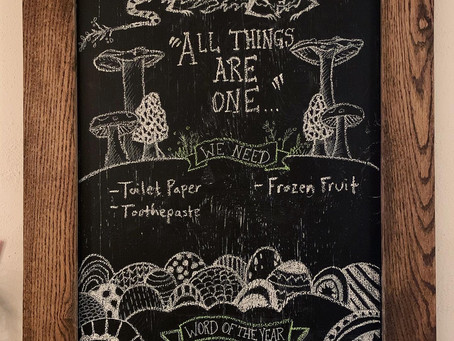 Home Chalkboard Art