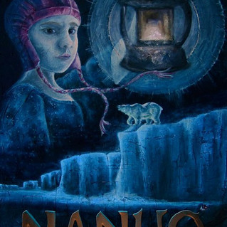 "One-Sheet Poster Design for the Film, ""Nanuq"""