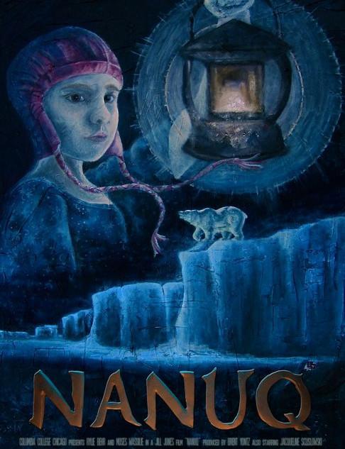 "One-Sheet Poster Design for the Film, ""Nanuq"""