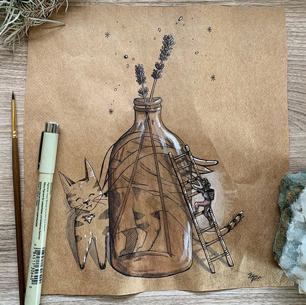 The Lavender Bottle