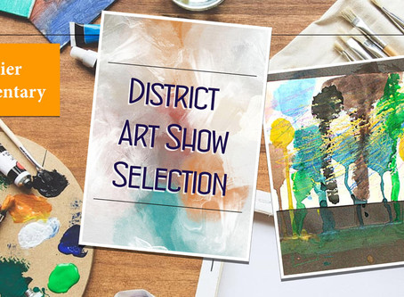 Selected Student Work For District Art Show