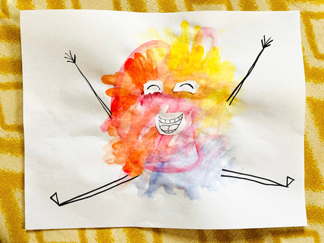 Artfully Fun Quarantine: Happy National Scribble Day!