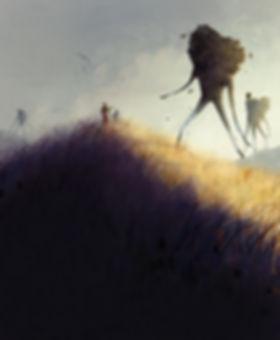 Art, Illustration, Digital Painting, Earth, Environment, Earth, Giants, Earth Giants, Characters, Digital Art, Concept, Story