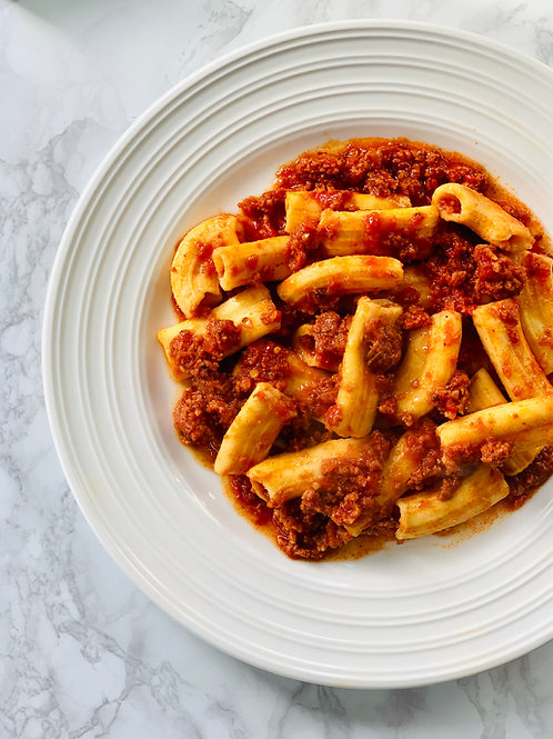 Spicy N'duja Ragu with Rigatoni (for x2 people)
