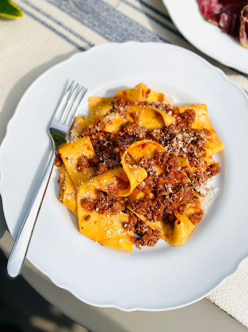 Pappardelle Al Ragu - Beef and Red Wine (For x2 people)